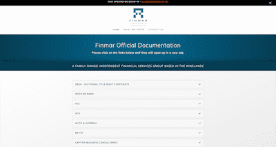 Finmar docs repository